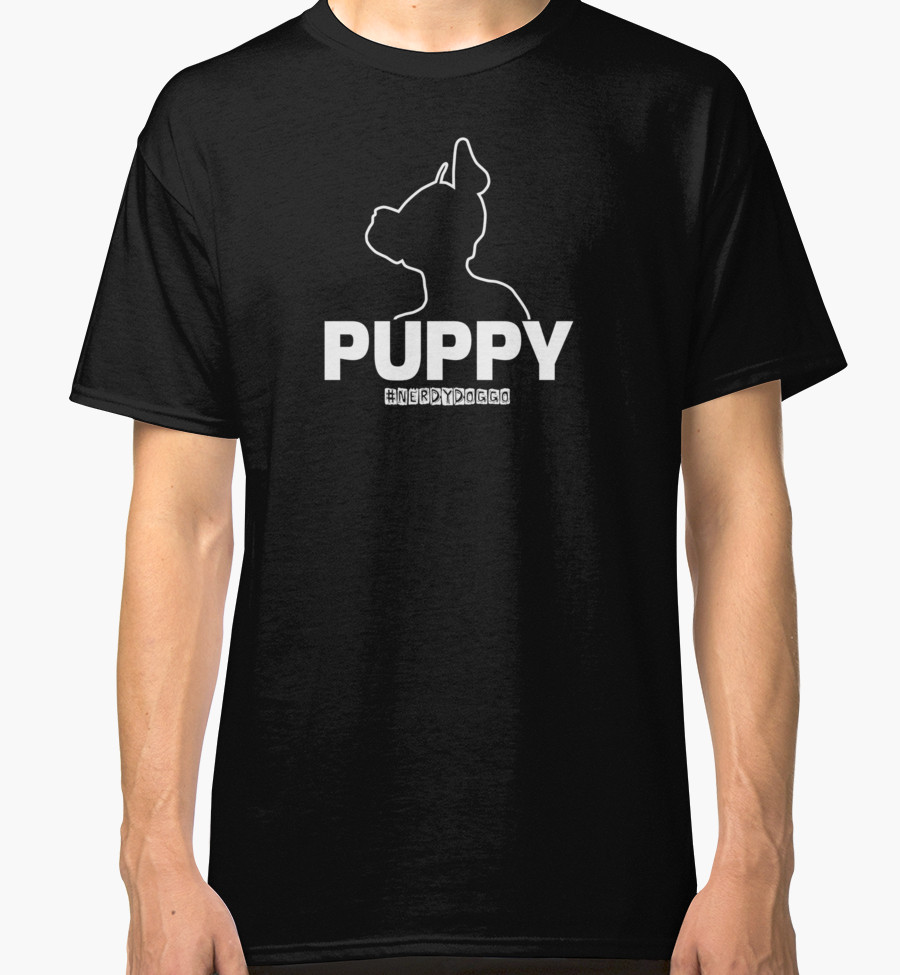 Nerdy Doggo Pup Play T-Shirt