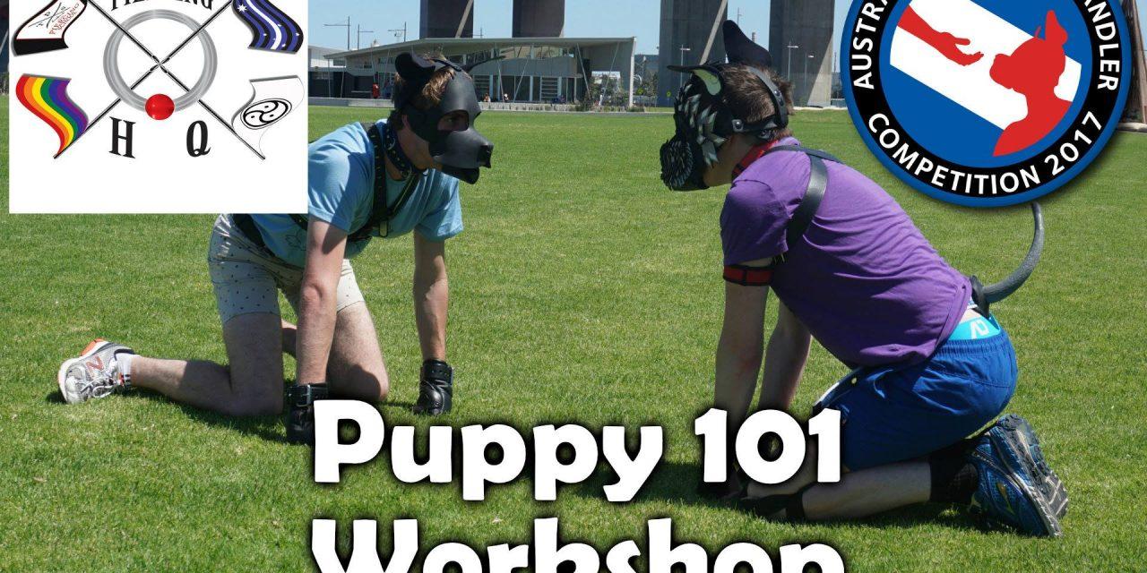 APHC 2017 Puppy 101 Workshop