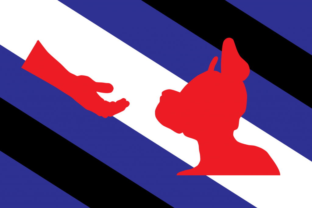 Pup and Handler Pride Flag